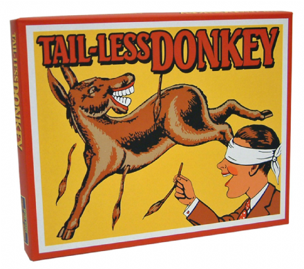 Tail-Less Donkey Retro Family Game